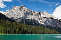Emerald Lake in Summer, Yoho National Park, British Columbia, Canada