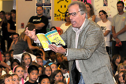 "H:\EDITORIAL\Photos\09 September 2009\JH 9-24-09 ROLE MODELóActor, writer, and all around great guy Henry Winkler reads ""I Got a ""D"" in Salami"" from his Hank Zipper book series during the kick off assembly for Reading at Lang Ranch Elementary School on Monday, September 21 in Thousand Oaks. Students are challenged to read 3.5 million words during the 2009-2010 school year."