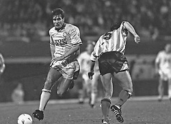 Carl Shutt Leeds United, Coventry v Leeds United, First Division, Highfield Road,  1991
