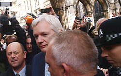 WikiLeaks founder Julian Assange leaves The High Court, London. Mr Assange has failed in his bid to stop his extradition to Sweden to face sexual assault allegations, Wednesday November 2, 2011 Photo By .Morn/ i-Images.