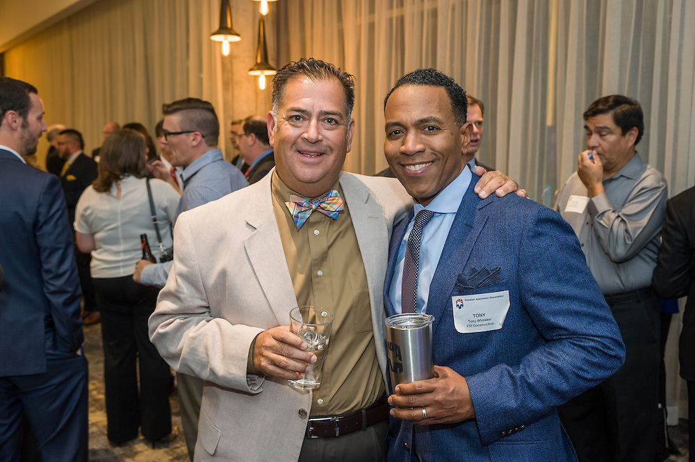 Photograph from the 2015 Houston Apartment Association Annual Business Meeting