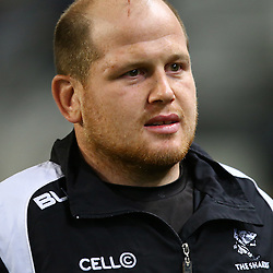 DURBAN, SOUTH AFRICA, 9,JULY, 2016 Lourens Adriaanse of the Cell C Sharks during The Cell C Sharks vs Toyota Cheetahs  Super Rugby Match at Growthpoint Kings Park in Durban, South Africa. (Photo by Steve Haag)<br /> <br /> images for social media must have consent from Steve Haag