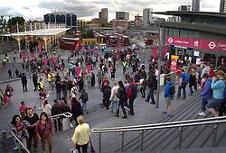 UK ENGLAND LONDON 30AUG12 - Stratford station during the Paralympic Games in east London...jre/Photo by Jiri Rezac....© Jiri Rezac 2012