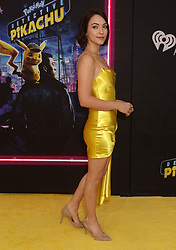 May 2, 2019 - New York City, New York, U.S. - Actor VIOLETT BEANE attends the US premiere of Pokemon Detective Pikachu held at Military Island Times Square. (Credit Image: © Nancy Kaszerman/ZUMA Wire)
