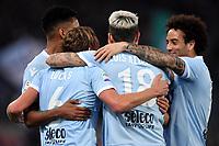 Lucas Leiva Lazio Esultanza gol. Goal celebration . <br /> Roma 18-03-2018  Stadio Olimpico<br /> Football Calcio Serie A 2017/2018, Lazio - Bologna<br /> Foto Andrea Staccioli / Insidefoto