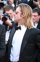 Brad Pitt at the Killing Them Softly gala screening at the 65th Cannes Film Festival France. Tuesday 22nd May 2012 in Cannes Film Festival, France.