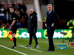 Sunderland manager David Moyes and Middlesbrough manager Steve Agnew - Mandatory by-line: Robbie Stephenson/JMP - 26/04/2017 - FOOTBALL - Riverside Stadium - Middlesbrough, England - Middlesbrough v Sunderland - Premier League