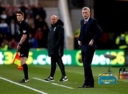 Sunderland manager David Moyes and Middlesbrough manager Steve Agnew - Mandatory by-line: Robbie Stephenson/JMP - 26/04/2017 - FOOTBALL - Riverside Stadium - Middlesbrough, England - Middlesbrough v Sunderland - Premier League