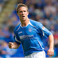St Johnstone FC..season 2011-12<br /> Chris Millar<br /> Picture by Graeme Hart.<br /> Copyright Perthshire Picture Agency<br /> Tel: 01738 623350  Mobile: 07990 594431