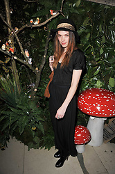 ANNA BREWSTER at Mulberry's party following their fashion show as part of London Fashion Week Autumn Winter Collection 2011 held at Claridges, Brook Street, London on 20th February 2011.