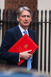 London, March 3rd 2015. Members of the cabinet arrive at 10 Downing Street for their weekly meeting. PICTURED: Foreign Secretary Philip Hammond