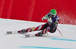 12-02-2011 SKIEN: FIS ALPINE WORLD CHAMPIONSSHIP: GARMISCH PARTENKIRCHEN<br /> Bode Miller (USA) takes to the air competing in the men's downhill race on the Kandahar race piste<br /> **NETHERLANDS ONLY**<br /> ©2011-WWW.FOTOHOOGENDOORN.NL/EXPA/ J. Feichter