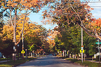 Connector streets (7th Street) in Traverse City, Michigan on October 13, 2018 (Gary L Howe)