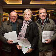 02.03.2017        <br /> Attending the Limerick City and County Councils Annual Tidy Towns Seminar 2017 at the Woodlands House Hotel Adare Co. Limerick were, Timmy Butler, Cappamore, Cllr Maria Hurley and Cllr. Gerry Mitchell. Picture: Alan Place