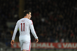 Gareth Bale of Wales (Real Madrid) - Photo mandatory by-line: Dougie Allward/JMP - Tel: Mobile: 07966 386802 03/03/2014 -