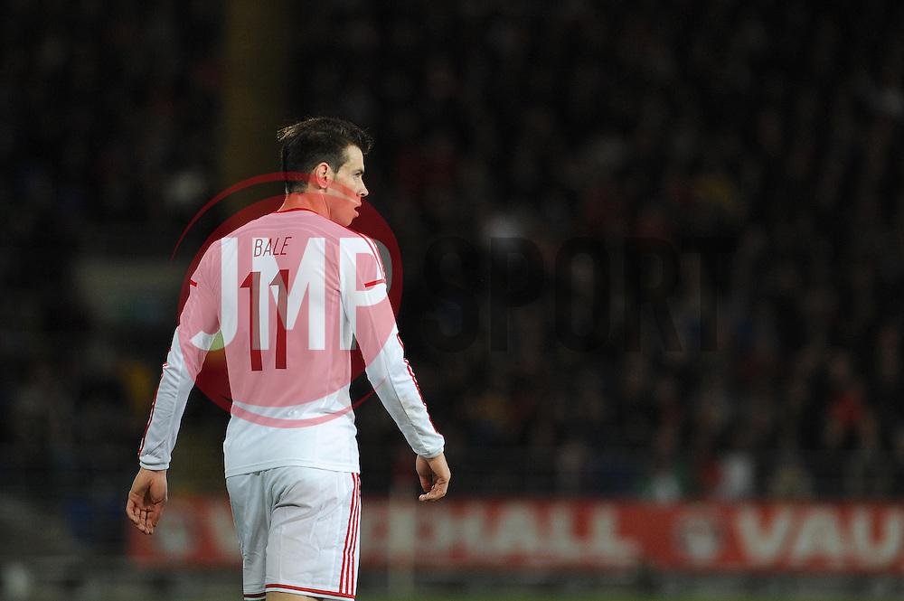 Gareth Bale of Wales (Real Madrid) - Photo mandatory by-line: Dougie Allward/JMP - Tel: Mobile: 07966 386802 03/03/2014 -