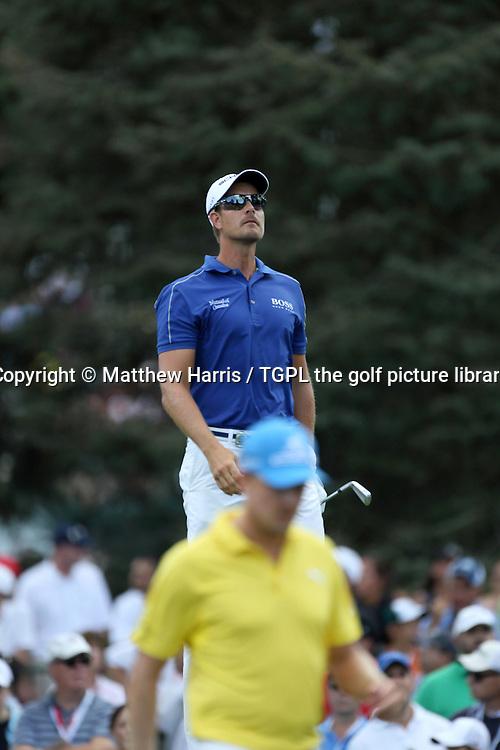Henrik STENSON (SWE) with Jonas BLIXT (SWE) during fourth round US PGA Championship 2013,Oak Hill CC,