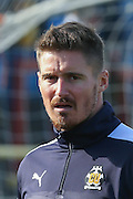 Cambridge United forward Barry Corr during the Sky Bet League 2 match between York City and Cambridge United at Bootham Crescent, York, England on 3 October 2015. Photo by Simon Davies.
