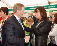 Taoiseach Enda Kenny at the National Ploughing Championships 2015