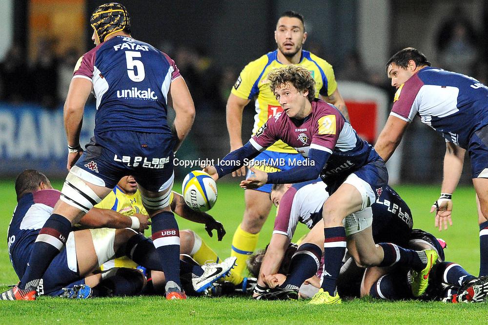 Baptiste Serin  - 13.03.2015 - Clermont / Begles Bordeaux  -  20eme journee de Top 14<br /> Photo : Jean Paul Thomas  / Icon Sport<br /> <br />   *** Local Caption ***