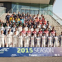 Driver lineup at the  FIAWEC 6 Hours of Silverstone 2015