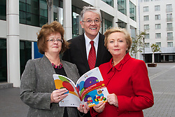 Growing Up in Ireland – Development from birth to three years.<br /> <br /><br />Date: Friday September 20th 2013, 11.00am<br />Location: ESRI, Whitaker Square, Sir John Rogerson's Quay, Dublin 2<br /><br />Pictured at the launch were (L-R)<br /><br />Prof. Hannah McGee, Royal College of Surgeons. (RSCI)<br />Ms. Frances Fitzgerald T.D., Minister for Children and Youth Affairs. James Williams, Growing Up in Ireland.<br /><br /><br />Growing Up in Ireland (the national longitudinal study of children) today published a new report by James Williams, Aisling Murray, Cathal McCrory and Sinéad McNally, on how children in Ireland are faring at three years of age. The report is being launched by the Minister for Children and Youth Affairs, Ms. Frances Fitzgerald, TD at an event at the ESRI in Dublin.<br />Development from birth to three years investigates how three-year-olds in Ireland are doing in terms of their physical health and development; their socio-emotional /behavioural well-being and their cognitive development.  The report also examines how outcomes are affected by the home environment of the children, by their childcare arrangements (where this is relevant) and by their family's economic and financial situation.<br />The Growing Up in Ireland study, started in 2006, involves two cohorts of children: an infant cohort of 11,000 children recruited into the study at 9 months of age, and a child cohort of 8,500 children recruited at 9 years of age.<br /> <br />The study is wholly funded by Department of Children and Youth Affairs, in association with the Department of Social Protection and the Central Statistics Office. The younger children have been re-interviewed at 3 years and 5 years of age.  The older group was re-interviewed at 13 years of age.<br /> <br />In July this year the Minister for Children and Youth Affairs (Ms Frances Fitzgerald T.D.) announced that the Study would be extended for a further 5 years from 2015-2019.  The analyses from these additional