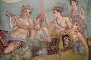 http://stefanorenna.photoshelter.com/gallery-image/20170208-Per-San-Valentino-negli-scavi-si-apre-la-casa-dei-casti-amanti/G0000fYgzcaxJ5iE/I0000CWhSXYQv4gM/C0000gnONj_VeMHw<br /> <br /> Scavi di Pompei ( Napoli) 8 febbraio 2017<br /> casa dei casti amanti<br /> Ph: Stefano Renna<br /> Nella foto &gt;: I piccoli dipinti dei casti amanti che decorano la casa