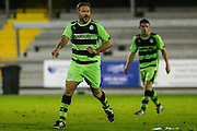 Forest Green Rovers assistant manager, Scott Lindsey during the Friendly match between Weston Super Mare and Forest Green Rovers at the Woodspring Stadium, Weston Super Mare, United Kingdom on 11 October 2016. Photo by Shane Healey.