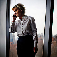 Tina Brown by Chris Maluszynski