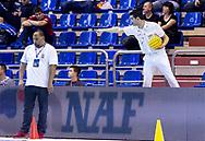 Colombo - Referee<br /> SRB - MNE Serbia (white cap) Vs. Montenegro (blue cap)<br /> LEN Europa Cup Men 2018 finals<br /> Water Polo, Pallanuoto<br /> Rijeka, CRO Croatia<br /> Day01<br /> Photo &copy; Giorgio Scala/Deepbluemedia/Insidefoto