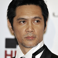 """HONG KONG - MARCH 22:  Japanese actor Masaya Kato attends the Opening Ceremony of the 33rd Hong Kong International Film Festival, the Gala Premiere of the opening films """"Shinjuku Incident """" and """"Night and Fog"""", at the Hong Kong Convention and Exhibition Centre on March 22, 2009 in Hong Kong.  Photo by Victor Fraile / studioEAST"""