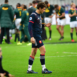 Disappointment for Baptiste Serin of France as his side lose the test match between France and South Africa at Stade de France on November 18, 2017 in Paris, France. (Photo by Dave Winter/Icon Sport)