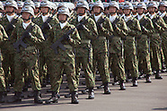 Annual Japanese military parade 10/23/2016