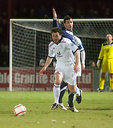 Dundee's Matt Lockwood - Ross County v Dundee - Irn Bru Scottish Football League First Division at Victoria Park, Dingwall..- © David Young - .5 Foundry Place - .Monifieth - .DD5 4BB - .Telephone 07765 252616 - .email; davidyoungphoto@gmail.com - .web; www.davidyoungphoto.co.uk