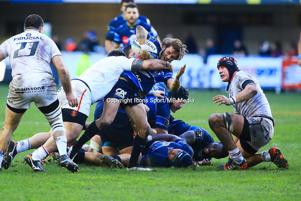 Benoit PAILLAUGUE - 20.12.2014 - Montpellier / Stade Toulousain - 13eme journee de Top 14 -<br />