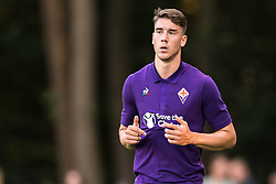 Dusan Vlahovic of ACF Fiorentina during the Pre-season Friendly match between Heracles Almelo and Fiorentina at Sportpark Wiesel  on August 01, 2018 in Wenum-Wiesel , The Netherlands