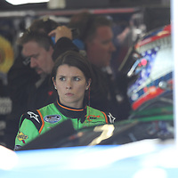 Stock car driver Danica Patrick during warm ups for the 2010 Daytona 500 race at the Daytona International Speedway on February 10, 2010 in Daytona Beach, Florida. (AP Photo/Alex Menendez)
