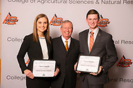 Agricultural Legislative Intern recipients, Grayson Kuehny and Katie Lippoldt.