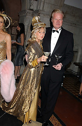 LIZ BREWER and  at Andy & Patti Wong's annual Chinese New Year party, this year celebrating the year of the dog held at The Royal Courts of Justice, The Strand, London WC2 on 28th January 2006.<br />