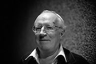 British journalist Robert Fisk visits the 'Mind the book' festival in between covering the different Arab revolts happening all over the region. Antwerp, Belgium, 2011