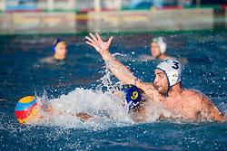Aleksandar Babic of VKL Ljubljana Slovan during water polo match between VKL Ljubljana Slovan and AVK Triglav Kranj in 3rd Round of Final of Slovenian Water polo National Championship, on June 16, 2018 in Kodeljevo, Ljubljana, Slovenia. Photo by Urban Urbanc / Sportida