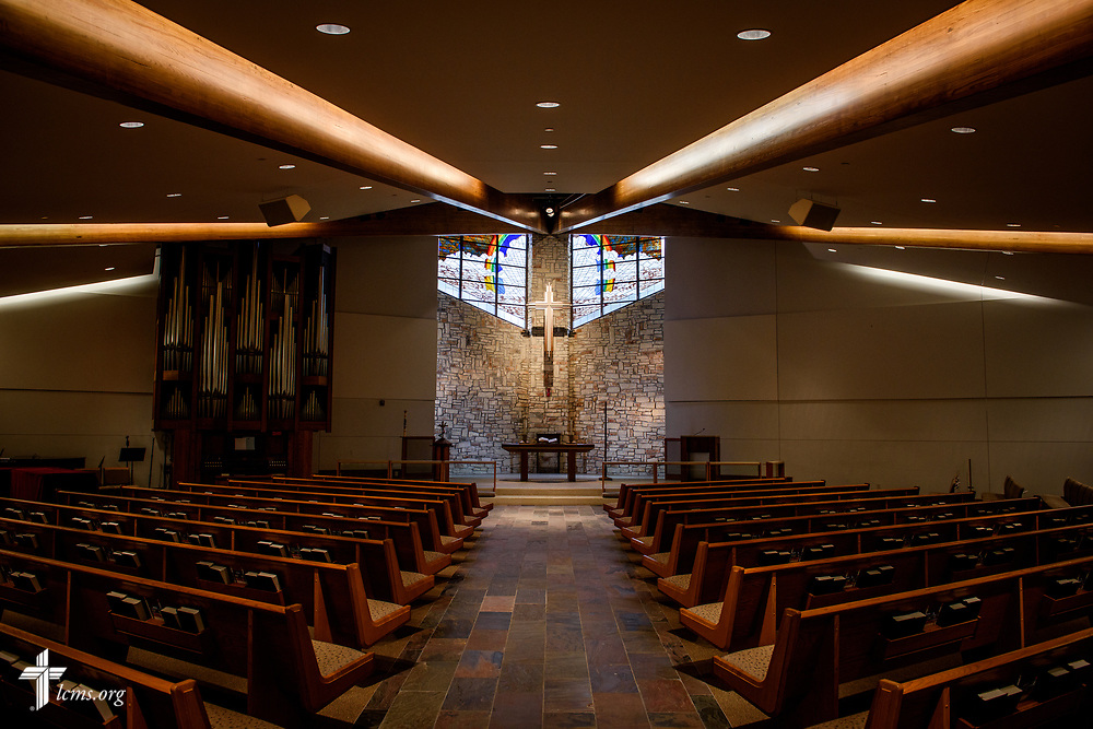 The sanctuary at Gloria Dei Lutheran Church, Houston, on Thursday, Feb. 8, 2018, in Houston. LCMS Communications/Erik M. Lunsford
