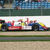 #5 Courage-Oreca LC70 - Team Oreca Matmut (Drivers - Stéphane Ortelli and Soheil Ayari) LMP1, Le Mans Series Silverstone 1000KM 2008