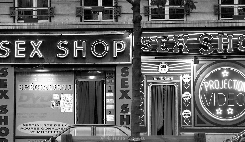 Pigalle sex shops, Paris