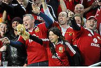 15 June 2013; British & Irish Lions supporters following their side's victory. British & Irish Lions Tour 2013, NSW Waratahs v British & Irish Lions, Allianz Stadium, Sydney, NSW, Australia. Picture credit: Stephen McCarthy / SPORTSFILE