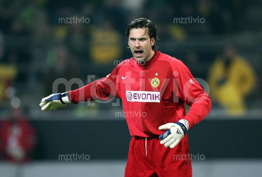 Fussball   DFB POKAL    Achtelfinale   Saison 2007/2008       Borussia Dortmund  2-1  SV Werder Bremen                 29.01.2008 Borussia Torwart Marc Ziegler