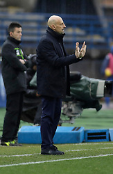03.02.2019, Stadio Carlo Castellani, Empoli, ITA, Serie A, Empoli FC vs Chievo Verona, 22. Runde, im Bild l'allenatore del Chievo Domenico Di Carlo // Chievo coach Domenico Di Carlo during the Seria A 22th round match between Empoli FC and Chievo Verona at the Stadio Carlo Castellani in Empoli, Italy on 2019/02/03. EXPA Pictures &copy; 2019, PhotoCredit: EXPA/ laPresse/ Marco Bucco<br /> <br /> *****ATTENTION - for AUT, SUI, CRO, SLO only*****