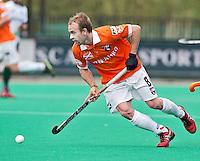 ROTTERDAM -HOCKEY - Matthew Swann van Bloemendaal  tijdens de play off hockeywedstrijd tussen de mannen van Rotterdam en Bloemendaal (1-1, R'dam wint na shoot out). FOTO KOEN SUYK