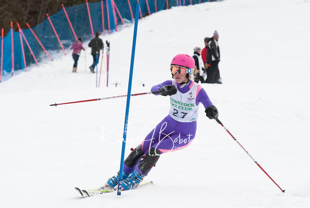 Cliff Nyquist Memorial Slalom at Gunstock J2, J1 February 21,  2012.