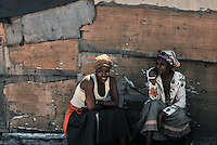 Two Women in Langa.<br />